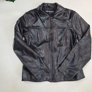 BB Dakota butter soft faux leather jacket